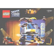 "Instruction Manuals For Lego Studios Set #1351 ""Lego Movie Backdrop Studio"""