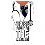 Trust Me I'm The Doctor - Mobile Back Case Cover For Samsung Galaxy S6 Edge Plus