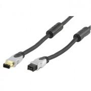 Extra hoge kwaliteit firewire kabel 6p - 9p (firewire 800)