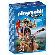 PLAYMOBIL Pirate Captain Playset
