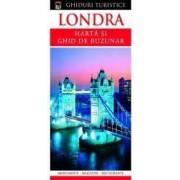 Londra - Harta si ghid de buzunar