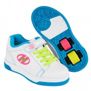 Heelys X2 Dual Up Solid White/Neon Multi