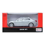 Rastar 1:43 Bmw M5 Silver M Series Diecast Car Collection