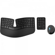 Клавиатура и Мишка и Number Pad Microsoft Sculpt Ergonomic Desktop USB Port English - L5V-00021