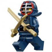 Идентифицирана минифигурка Лего Серия 15 - Lego series 15 - Kendo Fighter, 71011-12