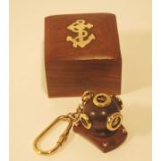 PORTACHIAVE CON BOX scafandro in legno