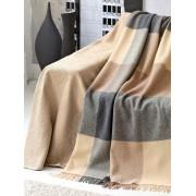 Peter Hahn Überwurf, ca. 160x190cm Peter Hahn beige