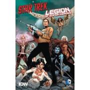 Star Trek/Legion of Super-Heroes by Jeffrey Moy