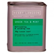 Green Tea & Mint Tin 95g
