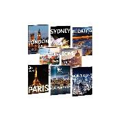 Cities-világ városai füzet sima A/5
