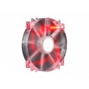 Ventilador Cooler Master MegaFlow 200, 200mm, 700RPM, Rojo