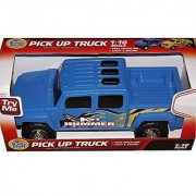 Kids Hummer H3 Pick Up Truck Free Rolling Light & Sound Childs