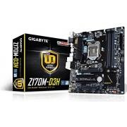 Gigabyte LGA1151 Intel Z170 Micro ATX DDR4 Motherboards GA-Z170M-D3H