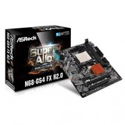 Asrock N68-GS4 FX R2.0 Carte mère DDR3-SDRAM Nvidia nForce 630 Socket AM3 +