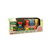 Globo Toys Globo - 37331 Legnoland Wooden Train with Cart or Animal Blocks
