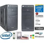 PC DESKTOP COMPLETO CORE INTEL i3-4130 3,4Ghz SCHEDA ASROCK H81M RAM 4GB HD 500GB Scheda grafica integrata Intel HD graphics 4400 HDMI VGA DVI UFFICIO FAMIGLIA LAVORO SCUOLA AZIENDA PRONTO ALL'USO