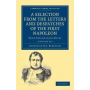A Selection from the Letters and Despatches of the First Napoleon 3 Volume Set by Napoleon Bonaparte