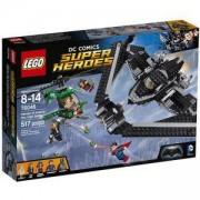 Конструктор Лего Супер Хироус - Герои на справедливостта: Битка в небето - LEGO DC Comics Super Heroes, 76046