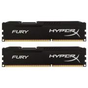 Kingston DDR3 8GB 1866 CL10 HyperX Fury Black Kit (HX318C10FBK2/8)