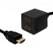 Splitter Divisor De Señal HDMI Conecta 2 Monitores