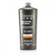 Kerastase Homme Capital Force Daily Treatment Shampoo (Densifying Effect) 1000ml/34oz