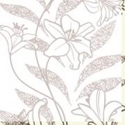 PVC тапети Алмапласт 'Лилиум' цвят златна перла