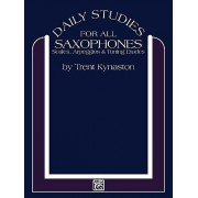Daily Studies for All Saxophones by Trent Kynaston
