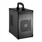 Carcasa Lian Li PC-TU100B Mini-ITX Cube Black