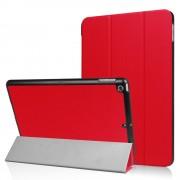 Rode Tri-Fold beschermhoes voor de iPad (2017) Smartcase
