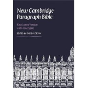 New Cambridge Paragraph Bible with Apocrypha KJ595:TA Black Calfskin by Blk Calfskin Le