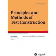 Principles and Methods of Test Construction: Standards and Recent Advances 2016 by Karl W. Schweizer