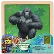 Wild Republic 20 x 20cm Wood Puzzle Gorilla (20 Pieces)