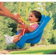 Little Tikes 2in1 Snug N Secure Swing Blue by Little Tikes