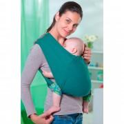 Amazonas Babytragetuch Carry Baby tuerkis