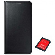 Lava A76 Flip cover With SD CARD ADAPTER