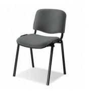 Cadeiras de Escritório Visitante 4 Pés Montada Cinza MADRID Empilhável