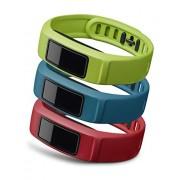 """Garmin - Pack correas Vivofit 2 """"Active"""" Pequeña (rojo / azúl / verde) Vivofit 2"""
