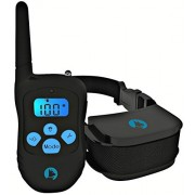 Bark Solution Rechargeable and Rainproof 330 yd Remote Dog Training E-collar with Beep/Vibration/Shock Electric Collar