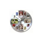 Orologio da parete con portafoto Rotondo