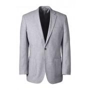 ランズエンド LANDS' END メンズ・リネンコットン・テーラード・ジャケット(ライトグレー)