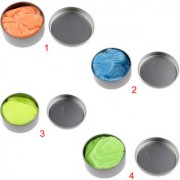 Magideal UV Reactive Thinking Putty Kids Modelling Clay DIY Craft Toy Playdough Green