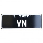 """Novelty Number Plate - 1 Tuff VN"""