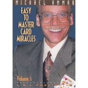 Easy to Master Card Miracles Volume 5 by Michael Ammar video DOW