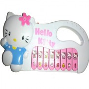 Hello Kitty Piano Toy Only For Kids (H9cm L17.5cm W2cm)