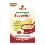 HOLLE (dla niemowląt) 6 mc KASZKA ZBOŻOWO-OWOCOWA BIO 250 g - HOLLE