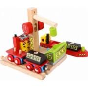 Platforma pentru vagoanele cu carbune