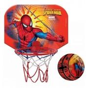 Falra szerelhető kosárlabda gyűrű Pókember Mondo labdával a gyűrű átmérője 19 cm