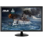 "Monitor Gaming IPS LED ASUS 21.5"" VP228TE, Full HD (1920 x 1080), DVI, VGA, 1 ms, Boxe, Low Blue Light, Flicker Free, TUV certified (Negru) + Bitdefender Antivirus Plus 2017, 1 PC, 1 an, Licenta noua, Scratch Card"