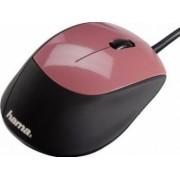 Mouse Optic Hama M364 Black Dusky Pink