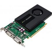 PNY VCQK2000D-PB Quadro 2000D 2GB GDDR5 videokaart